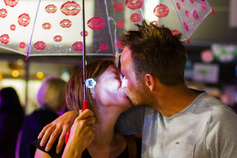 Kiss Cam op Maanrock Mechelen
